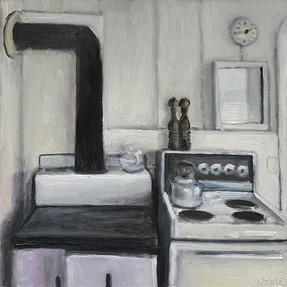 Stoves in White Kitchen