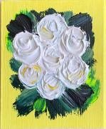 White Lemon Roses