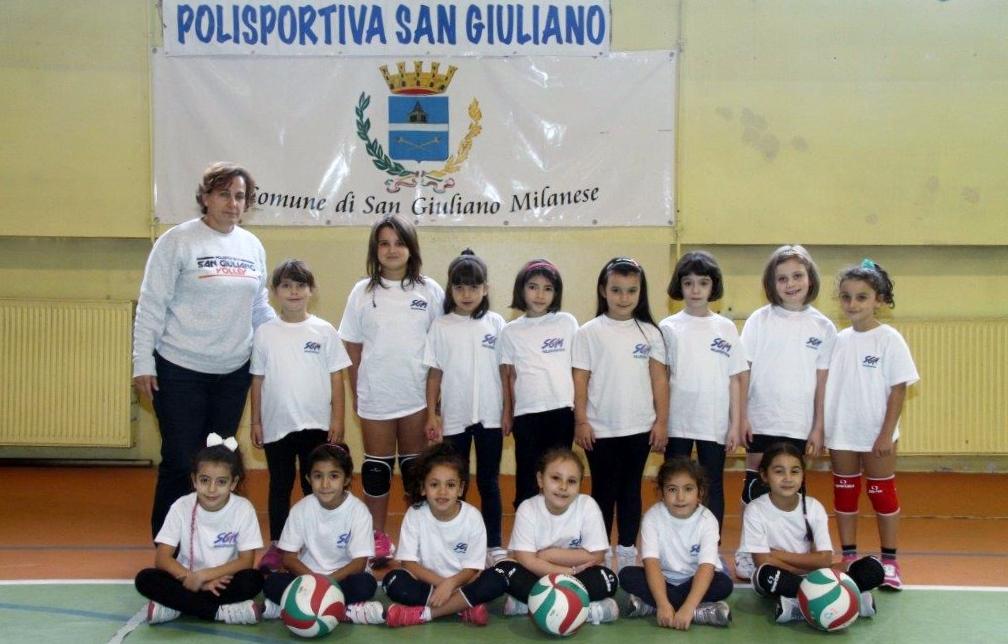 Mini volley Gogol -gruppo 2008/2009-