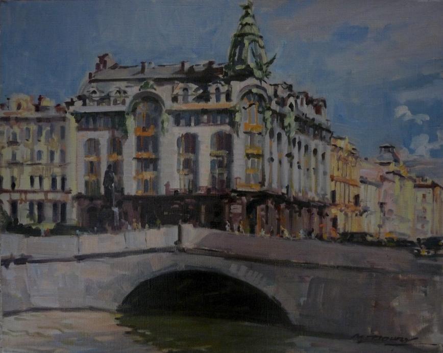 Nevsky prospect Saint Petersbourg