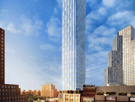 Brooklyn Point at 138 Willoughby Street is nearing completion