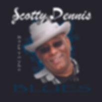 Scotty Dennis Back To The Blues Album Cover