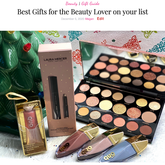 Best Gifts for the Beauty Lover on your list