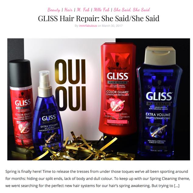 GLISS Hair Care