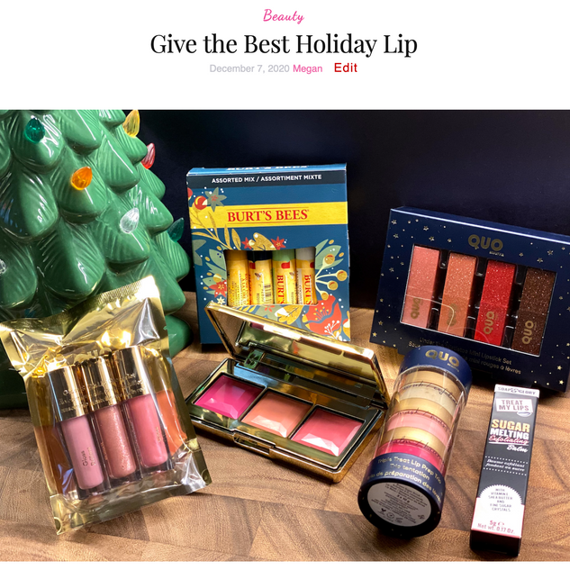 Give the Best Holiday Lip