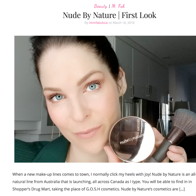 Nude by Nature First Look