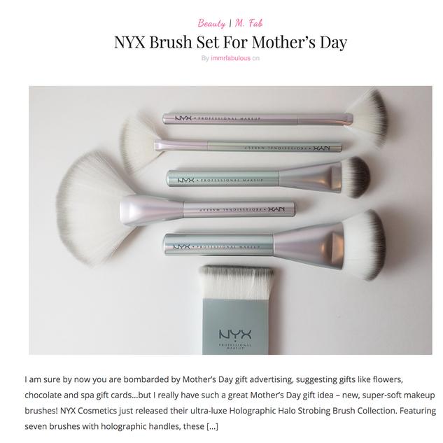NYX Brush Set