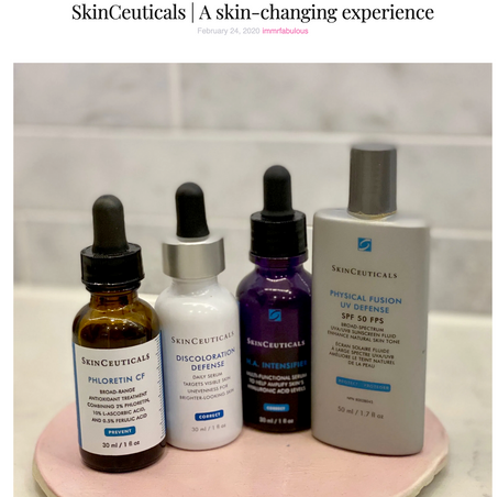 SkinCeuticals | A skin-changing experience