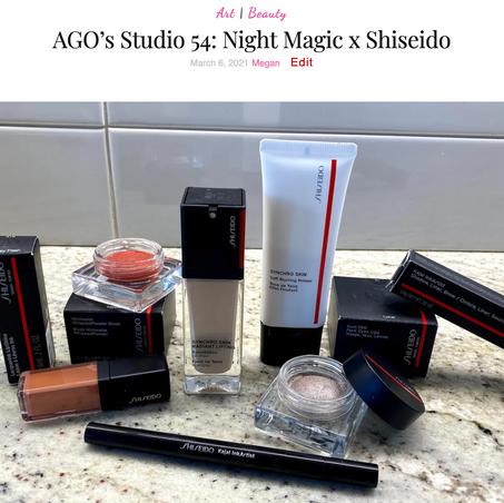 Shiseido x Studio 54 x AGO