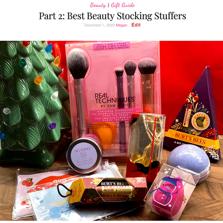 Part 2: Best Beauty Stocking Stuffers 2020