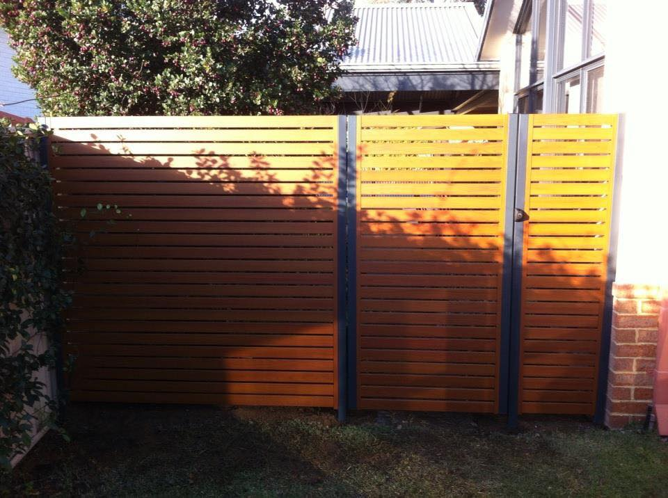 Aluminium Slat Panel and Gate