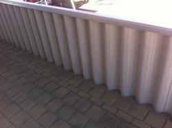 Hardifence half fence