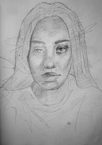 Coral Aston - Drawing