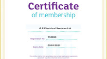 GR Electrical Services Ltd have proudly been awarded Constructionline Gold status for the second yea