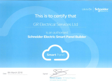 GR Electrical - Schneider Electric Smart Panel Builder