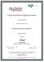 HSE36 Cert Health & Safety Accreditation