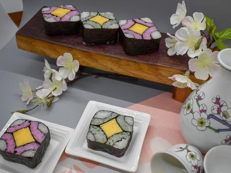 Four Sea Sushi Roll