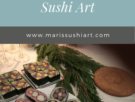 My encounter with Sushi Art