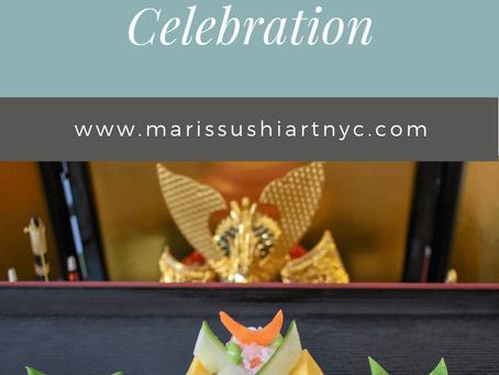 Temari Sushi for the Children's Day celebration