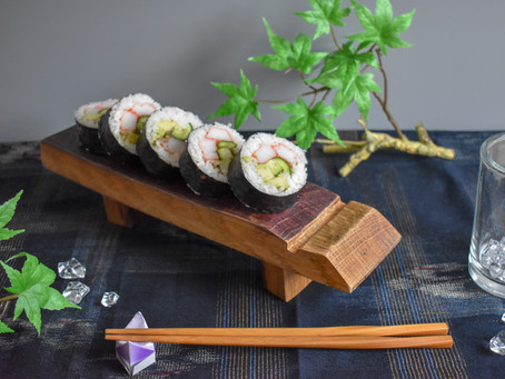 How to make perfect California roll with sushi mold