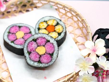 Flower Sushi Roll