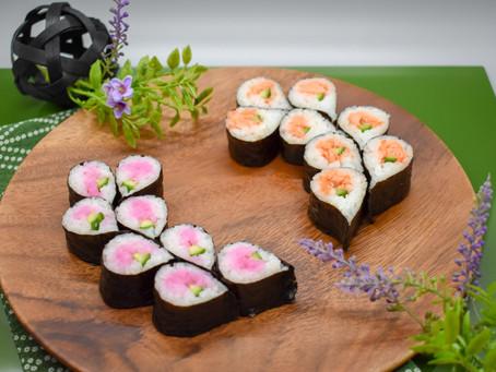 Wisteria Flower Sushi