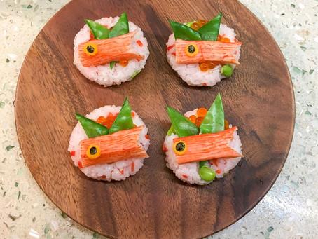Koinobori Temari Sushi