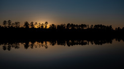 EAGLE LAKE SUNSET