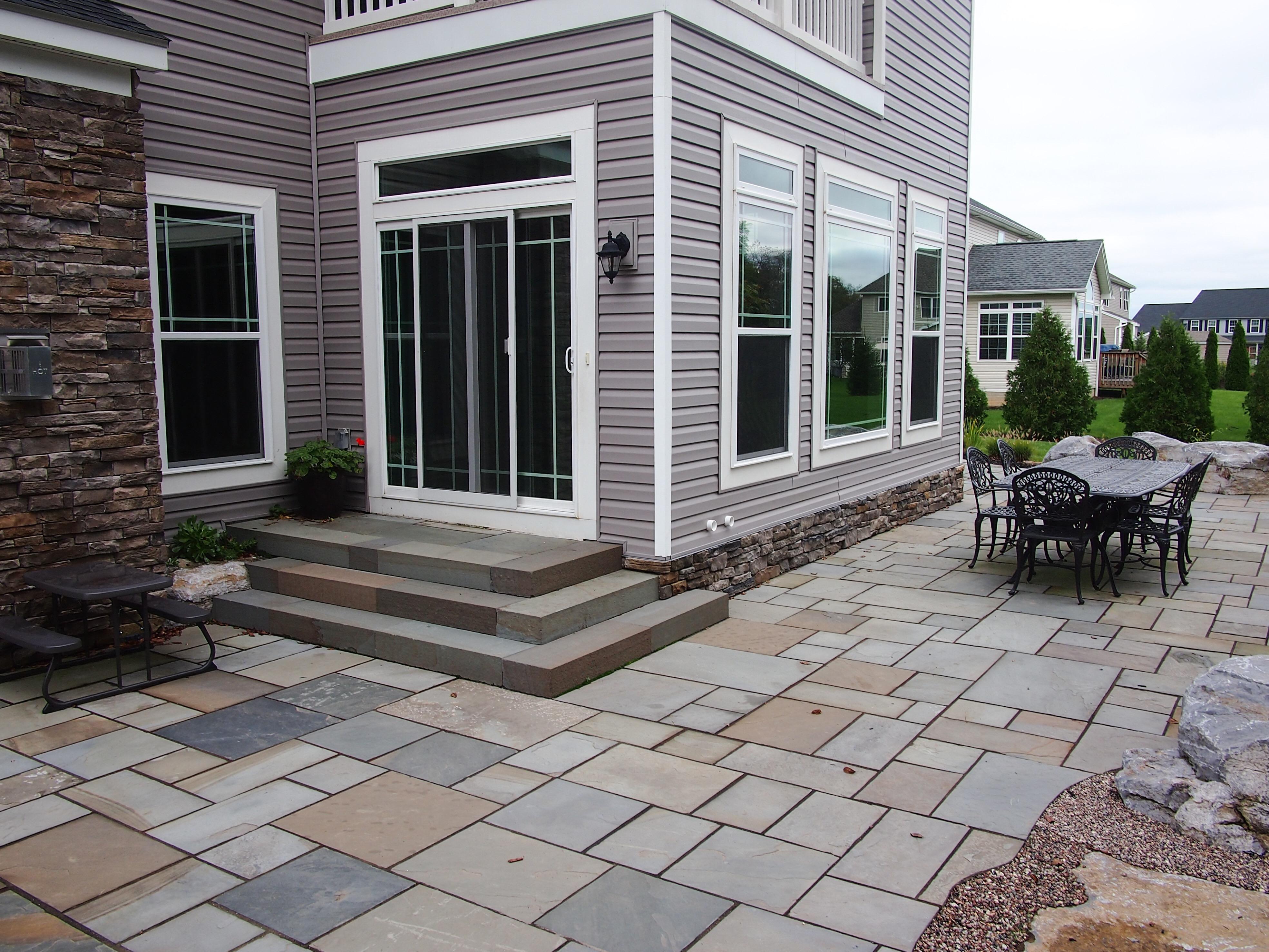 PA Bluestone patio
