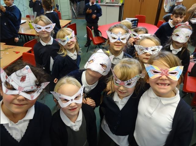 Year 2 - Superhero masks