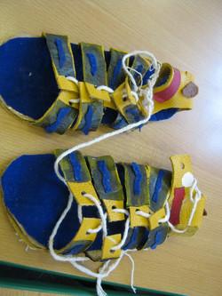 Year 4 - Roman sandals