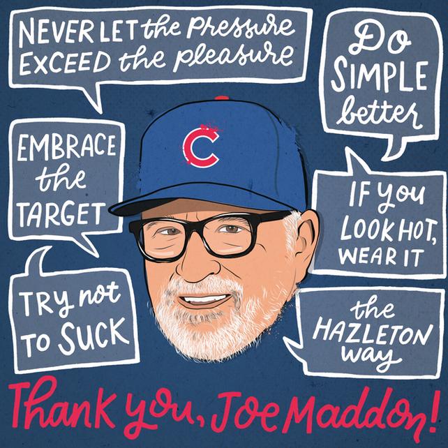Thank You Joe Maddon