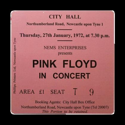 Pink Floyd City Hall Ticket Coaster