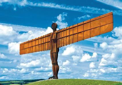 Gateshead's Angel of the North Postcard