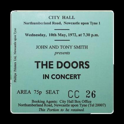 The Doors City Hall Ticket Coaster