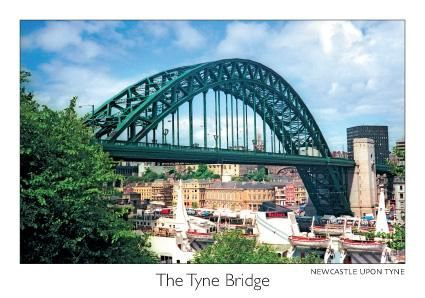 The Tyne Bridge Postcard