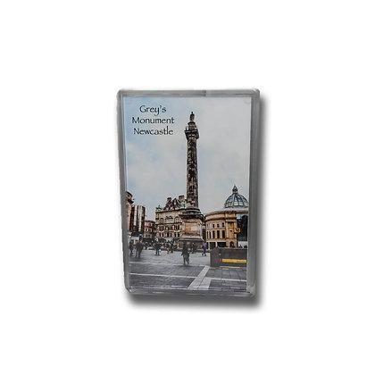 Grey's Monument Photo Magnet