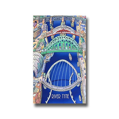John Coatsworth River Tyne Tea Towel
