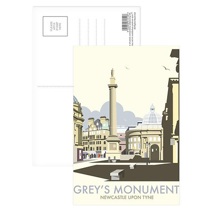 Grey's Monument Postcard
