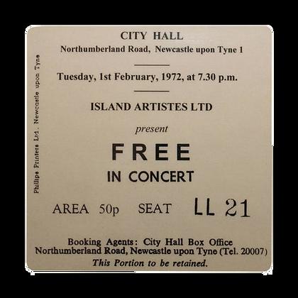 FREE City Hall Ticket Coaster