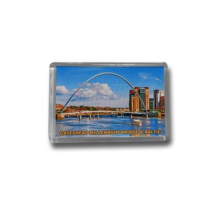 Gateshead Millennium Bridge & Baltic Photo Magnet