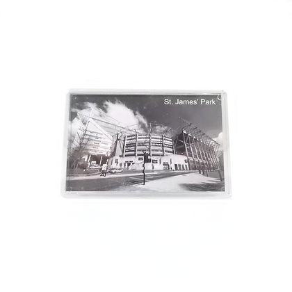 St. James' Park Black & White Photo Magnet