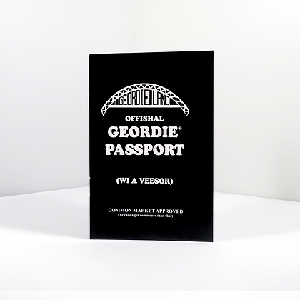 Geordie Passport