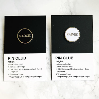 Radgie Pin Badge