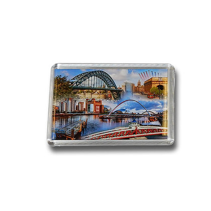 Newcastle Bridges & Landmarks Photo Magnet
