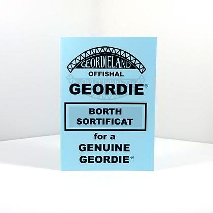 Geordie Borth Sortificat
