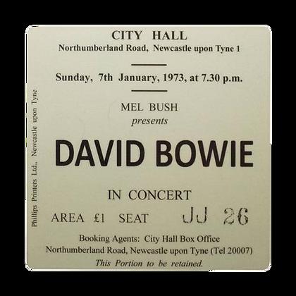 David Bowie City Hall Ticket Coaster