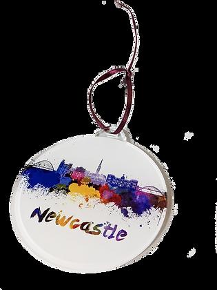 Newcastle Acrylic Bauble Decoration