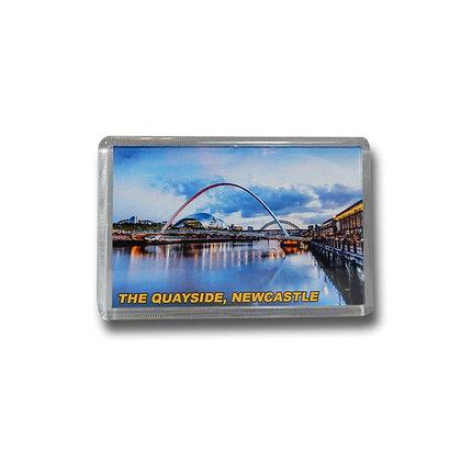 Newcastle Gateshead Quayside Photo Magnet