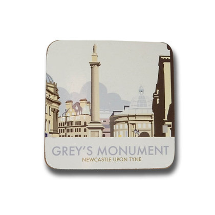 Dave Thompson Grey's Monument Coaster